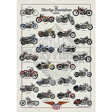 Harley-Davidson Legend Poster, 26-3/4