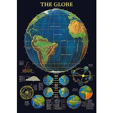 The Globe Poster, 26 3/4