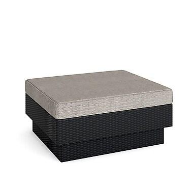 Sonax - Ensemble chaises longues Park pour terrasse - 4 pièces, noir texturé
