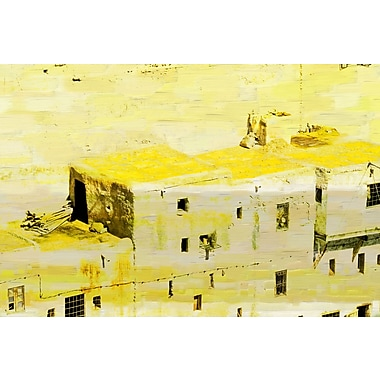 Marmont HIll 'Old City-11' Painting Print on Wrapped Canvas; 40'' H x 60'' W