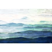 Marmont HIll 'Mountain Tops' Art Print on Wrapped Canvas; 40'' H x 60'' W