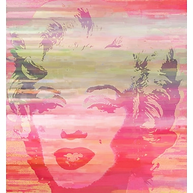 Marmont HIll 'Marilyn Sunset' Painting Print on Wrapped Canvas; 32'' H x 32'' W