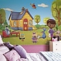 Room Mates Doc McStuffins Chair Rail Prepasted Wall