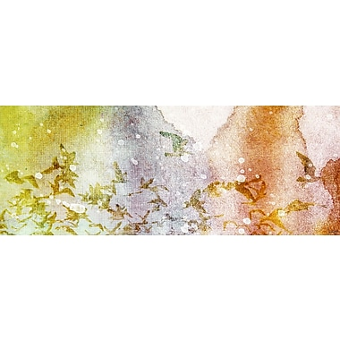 Marmont HIll 'En Route' by Jen Lee Painting Print on Wrapped Canvas; 18'' H x 36'' W