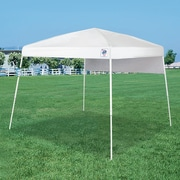 E-Z UP Dome  10 Ft. W x 10 Ft. D Canopy; White