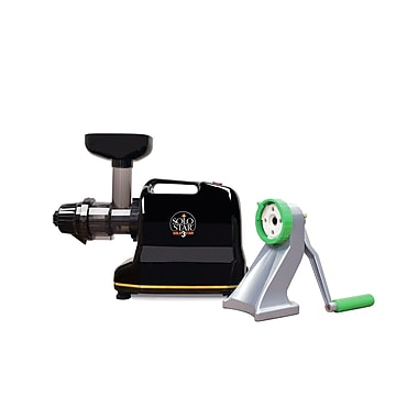 Tribest Solostar-3C Convertible Single Auger Juicer w/ Manual Conversion Kit