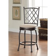Kinfine Tristan 24'' Swivel Bar Stool with Cushion