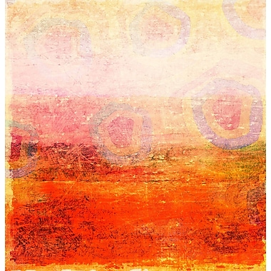 Marmont HIll Unakite by Art Collective Painting Print on Wrapped Canvas; 40'' H x 40'' W