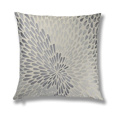 North Home Bloom Embroidery Cotton Throw Pillow