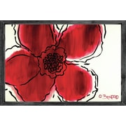 Forest Creations Magnet Art Print The Flower Within Red Framed Wall Art