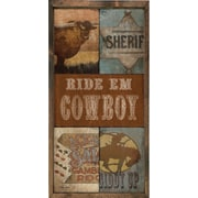 Forest Creations Magnet Print Ride 'Em Cowboy Framed Graphic Art