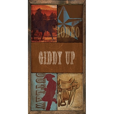 Forest Creations Magnet Print Giddy Up Framed Graphic Art