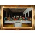 Tori Home The Last Supper Da Vinci Framed Original Painting