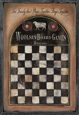 Forest Creations Magnet Print Woolsey Board Game