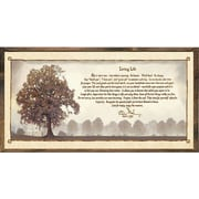 Forest Creations Magnet Print Living Life Framed Graphic Art