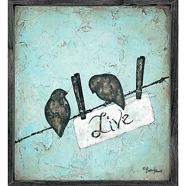 Forest Creations Magnet Print Live Framed Graphic Art