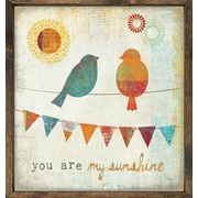 Forest Creations Magnet Art Print You are My Sunshine Framed Wall Art