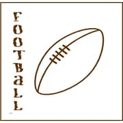 Forest Creations Magnet Football Canvas Art