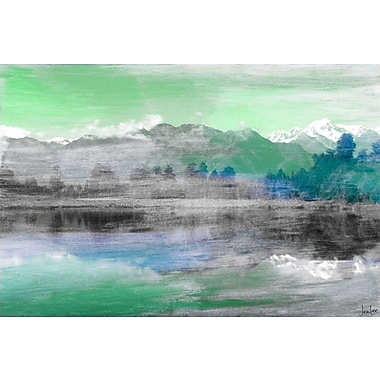 Marmont HIll 'Mountain High' by Jen Lee Painting Print on Wrapped Canvas; 30'' H x 45'' W