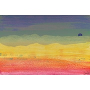 Marmont HIll 'Desert Sun' by Jen Lee Painting Print on Wrapped Canvas; 16'' H x 24'' W