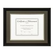 Craig Frames Inc. Document Frames Picture Frame; Cinder / Silver
