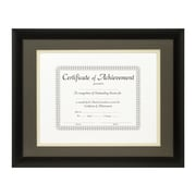 Craig Frames Inc. Document Frames Picture Frame; Cinder / Papyrus