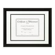 Craig Frames Inc. Document Frames Picture Frame; White / Black