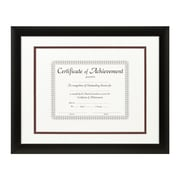Craig Frames Inc. Document Frames Picture Frame; White / Maroon