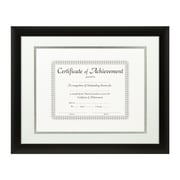 Craig Frames Inc. Document Frames Picture Frame; White / Silver