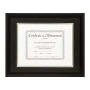 Craig Frames Inc. Document Frames Picture Frame; Black / Silver