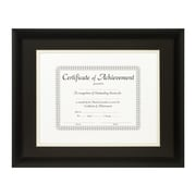 Craig Frames Inc. Document Frames Picture Frame; Black / White
