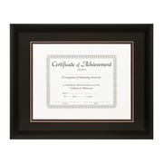 Craig Frames Inc. Document Frames Picture Frame; Black / Maroon