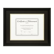Craig Frames Inc. Document Frames Picture Frame; Black / Papyrus
