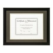 Craig Frames Inc. Document Frames Picture Frame; Cinder / White