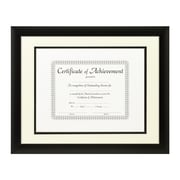 Craig Frames Inc. Document Frames Picture Frame; Papyrus / Black
