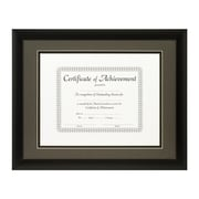 Craig Frames Inc. Document Frames Picture Frame; Cinder / Black