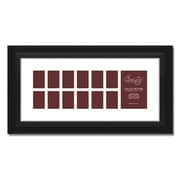 Craig Frames Inc. 581Collage 13 Photograph Picture Frame; 11'' x 24''