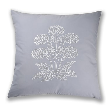 North Home Athens Embroidery Cotton Throw Pillow