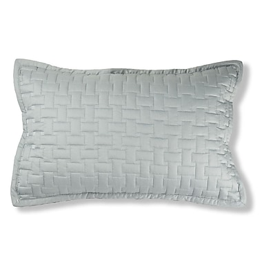 North Home Magnolia Quilted Cotton Lumbar Pillow