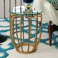 Global Views Spoke End Table