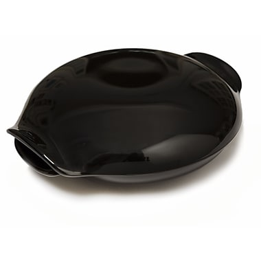 Russel Wright Residential Melamine Covered Salad Bowl; Black