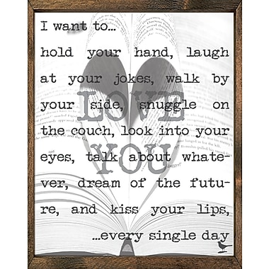 Forest Creations Magnet Framed Textual Art