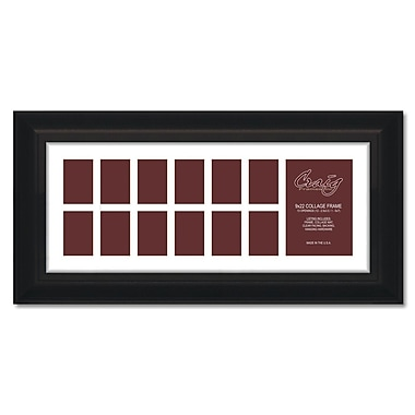 Craig Frames Inc. 581Collage 13 Photograph Picture Frame; 9'' x 22''