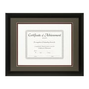 Craig Frames Inc. Document Frames Picture Frame; Cinder / Maroon