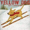 Epic Art 'Yellow Dog Ski Co' by Ryan Fowler Graphic Art on Canvas