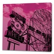 Epic Art Cotton Candy Wonder Wheel Graphic Art on Canvas