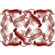 October Hill Lobster Large Paper Placemat