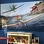 Room Mates Disney Planes Chair Rail Prepasted Wall