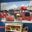 Room Mates Cars Friends to the Finish Chair Rail Prepasted Wall Mural