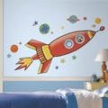 Room Mates Rocket Giant Wall Decal